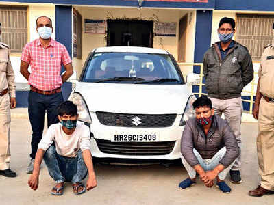 'Eeco' of silencers lures Haryana thieves to Guj