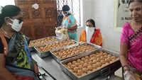 Sale of 'Tirupati laddus' begins in Andhra Pradesh