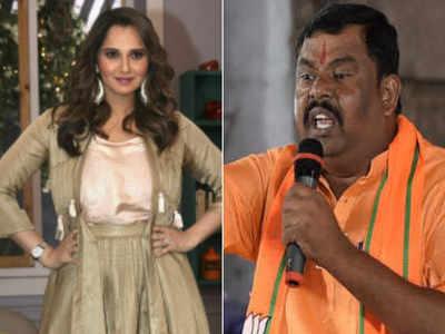 Sania Mirza is 'Pakistan ki bahu', oust her as Telangana ambassador: BJP MLA urges KCR