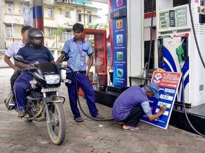21-day consecutive hike in fuel prices halts: Petrol selling at Rs 80.38/litre, diesel at Rs 80.40/litre in Delhi