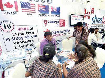 'US dream fading among Guj students'