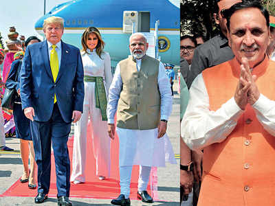 Who says Rs 100-cr spent on Trump visit?