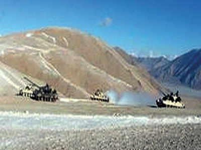 Chinese jets carry out exercise near Ladakh