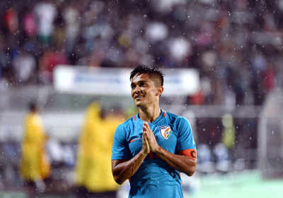 """Intercontinental Football Cup: Sunil Chhetri thanks fans, """"We promise you that if that's the kind of support we get every time, we will give our lives on the pitch"""""""