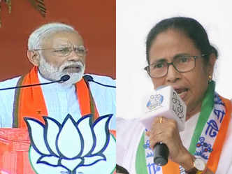'Speedbreaker didi' lost sleep after 2 phases, says PM; Mamata hits back