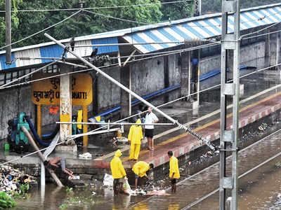 Railway officials: Lockdown period helped reduce waterlogging on rail tracks