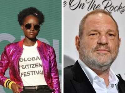 Now, Lupita Nyong'o accuses Harvey Weinstein of sexual harassment