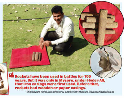 Over 100 Missiles of Tipu Sultan found in a shivamogga well