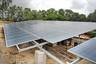 Nias not only produces own power, feeds grid too