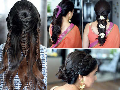 Gear up for Garba: 4 great hairstyles for the season