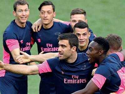 Arsenal eyeing Europa League knockout spot