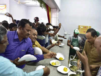 ID not needed for free food at Indira Canteen