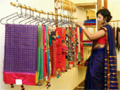 Shop Talk : A one-stop shop for handcrafted saris