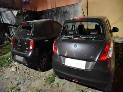 Vandals damage vehicles, run riot in Koramangala