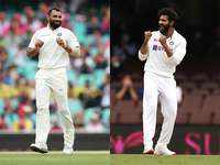 Shami, Jadeja back in India Test squad for WTC final, England tour