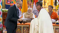 India, Bhutan sign 5 MoUs at Simtokha Dzong in Thimphu
