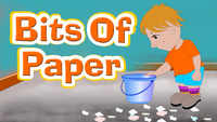 Kids Songs | Nursery Rhymes & Baby Songs 'Bits of Paper' - Kids Nursery Rhymes In English