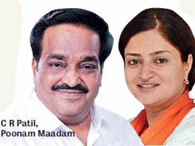 Poonam Maadam, CR Patil as ministers?