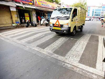 Shastri Nagar gets its speed breaker