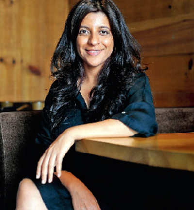 Zoya cruises along with her next film