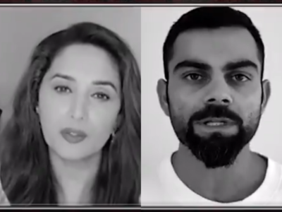 Watch: Celebs come together against domestic violence amid lockdown