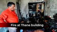 Thane: Major fire in 12-storey residential building