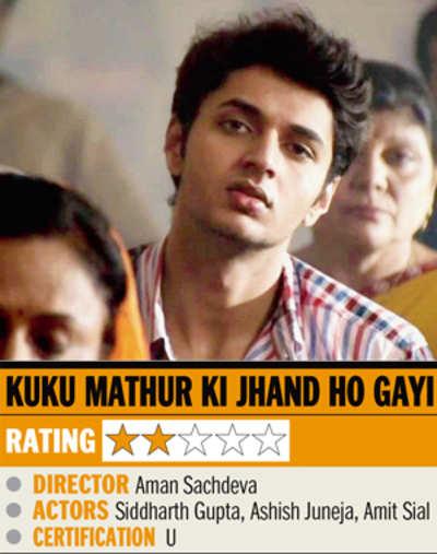 Film review: Kuku Mathur Ki Jhand Ho Gayi