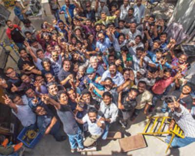 Iranian filmmaker Majid Majidi wraps up his shoot in Mumbai