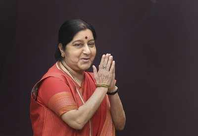 Sushma Swaraj clarifies she has not been appointed as Governor of Andhra Pradesh
