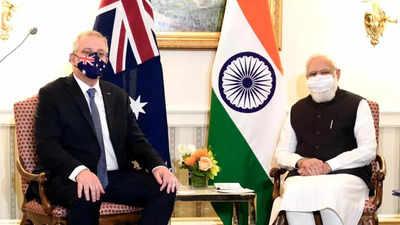 PM Modi holds bilateral meeting Australian PM Scott Morrison