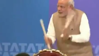 When PM Narendra Modi turned a drummer on his Japan trip