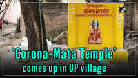 'Corona-Mata Temple' comes up in UP village
