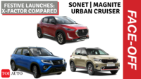 Kia Sonet vs Nissan Magnite vs Toyota Urban Cruiser | X-factor comparison