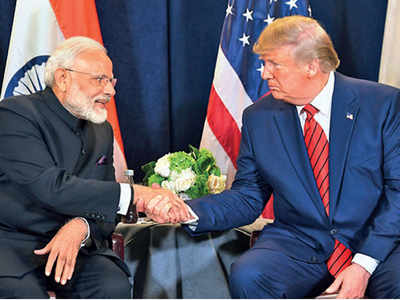 Trump's India trip,'Kem Chho Trump', will now be called 'Namaste President Trump'. Which one do you prefer, why?