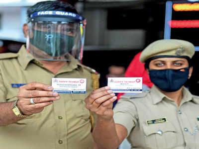 Railway cops get visiting cards