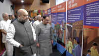 Amit Shah inaugurates exhibition showcasing PM Narendra Modi's achievements