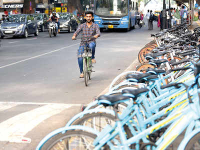 Have you tested the cycles under the bike sharing scheme yet?