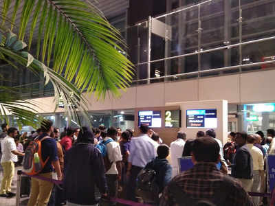 Indigo flight for Ahmedabad delayed for several hours at Bengaluru airport; passengers staged a protest