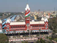 100-ft tall National Flag hoisted at Chennai Central