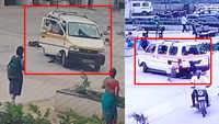 On cam: 7-year-old crushed by school van in Surat