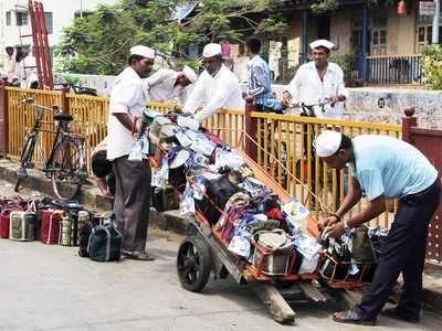 Mumbai Dabbawala Association members meet people in Bhendi Bazaar post Ayodhya verdict