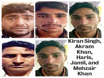 Five held in QR code scam