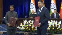 India, Kyrgyzstan sign agreements, exchange documents in Bishkek