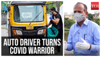 His auto is now an ambulance: Meet Kerala's Covid warrior