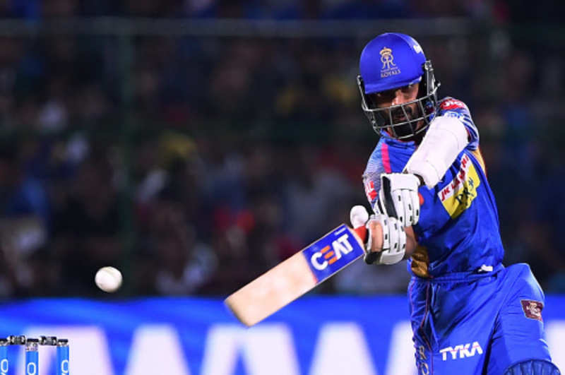 IPL 2018: Rajasthan Royals beat Delhi Daredevils by 10 runs in a rain-reduced match