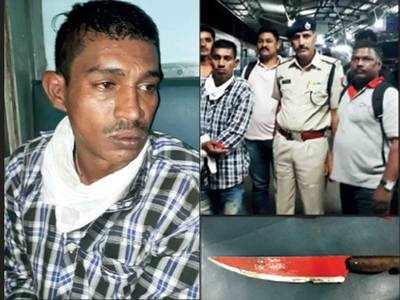 Knife wielding goon who terrorised train passengers arrested in Bandra