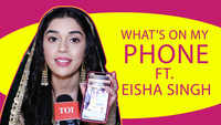 Whats's on my Phone ft. Eisha Singh |Ishq Subhan Allah| |Exclusive|