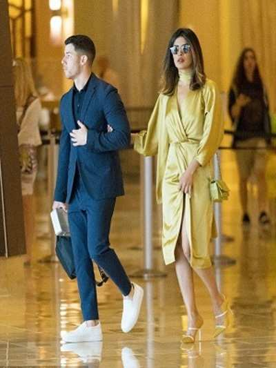Almost official? 'Quantico' star Priyanka Chopra and singer Nick Jonas attend wedding together