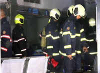 Mumbai: Fire breaks out in Bank of India building