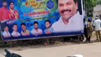 Chennai: Civic body removes hoardings after AIADMK banner falls on girl